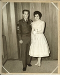 I found my 1960 Military Ball photo of me, Big Stu Hoffenberg with 'Guess Who?' Our very own 'Sheila Wolfe. Isn't sh